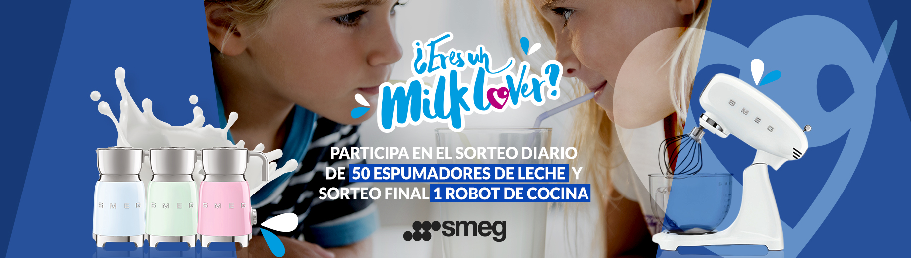 Milk Lovers Leche Celta y Smeg